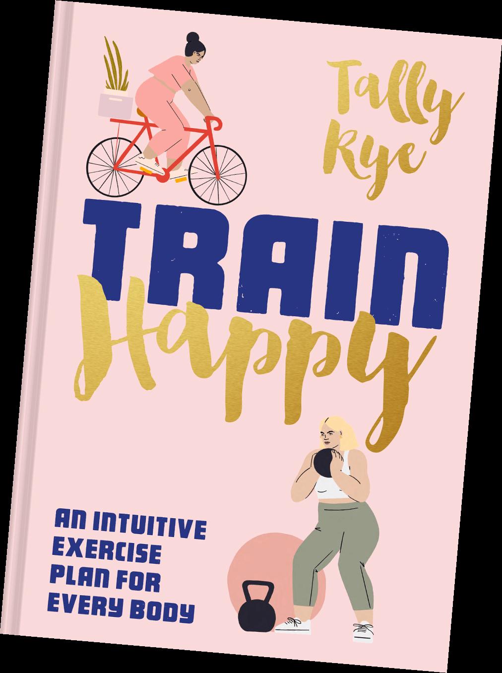 """""""Train Happy"""" Book Cover"""